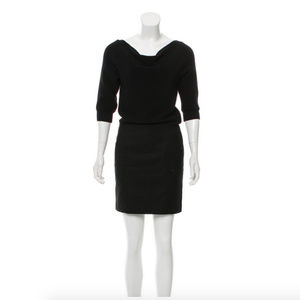 Loeffler Randall Short Sleeve Mini Dress